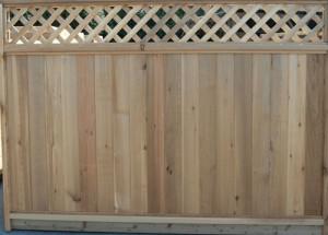 Cedar Fencing - Style A - Grade 1