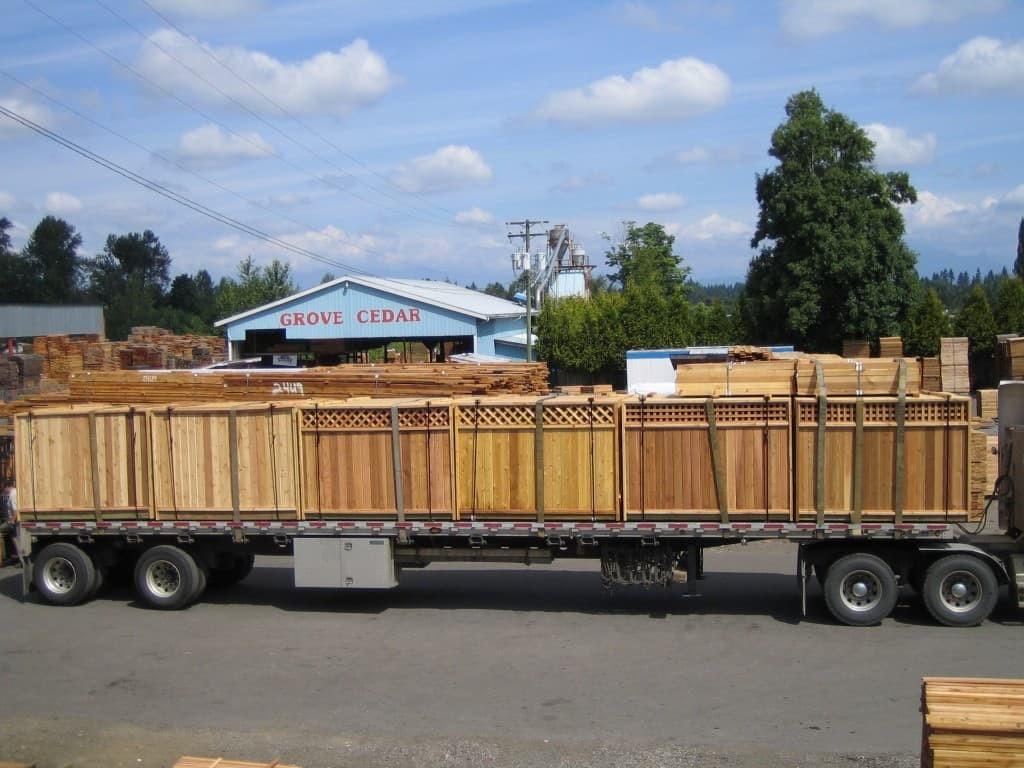 Grove Cedar Ltd » Cedar Lumber